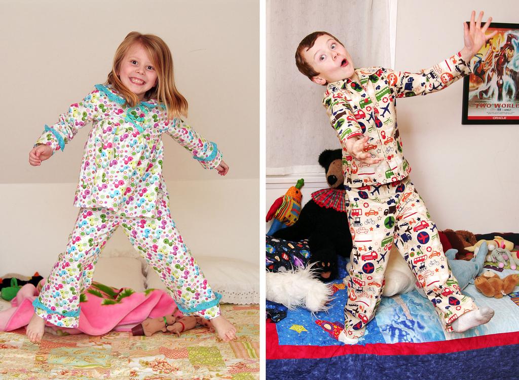 Как сшить пижаму детьми 621